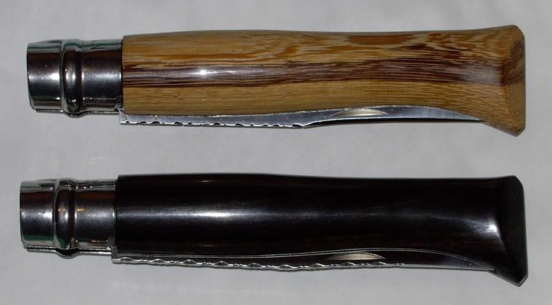 Opinel N°12 en ébène et bois de serpent